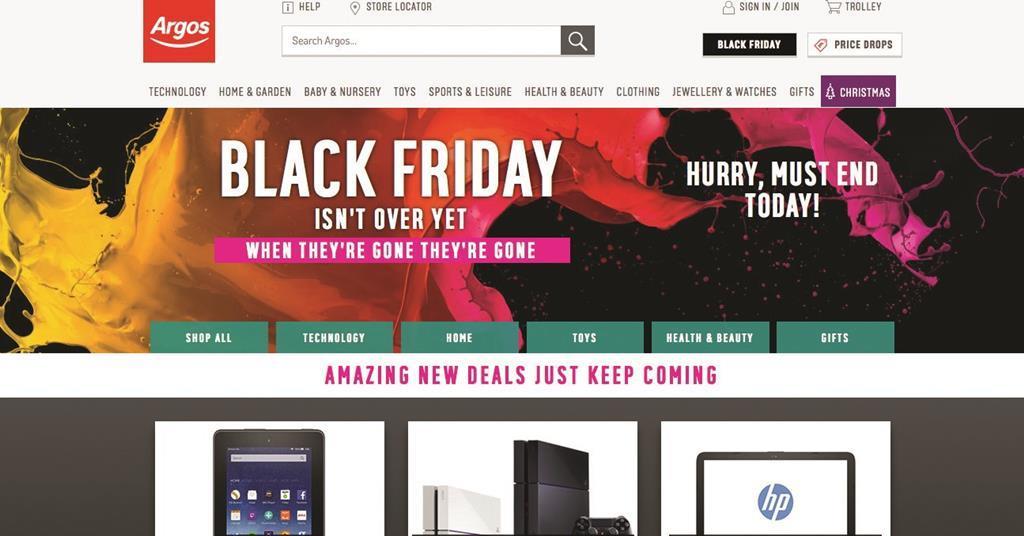Amazon And Argos Unveil Black Friday Extravaganzas News Retail Week