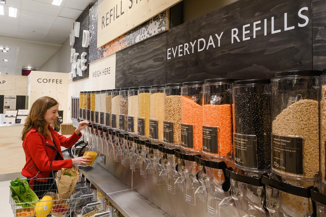 In pictures: Waitrose pilots packaging-free concept store