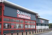 Bunnings Warehouse store fascia