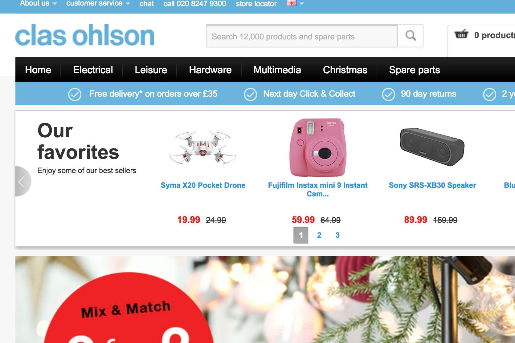 Clas Ohlson to close UK stores  991c5b0608