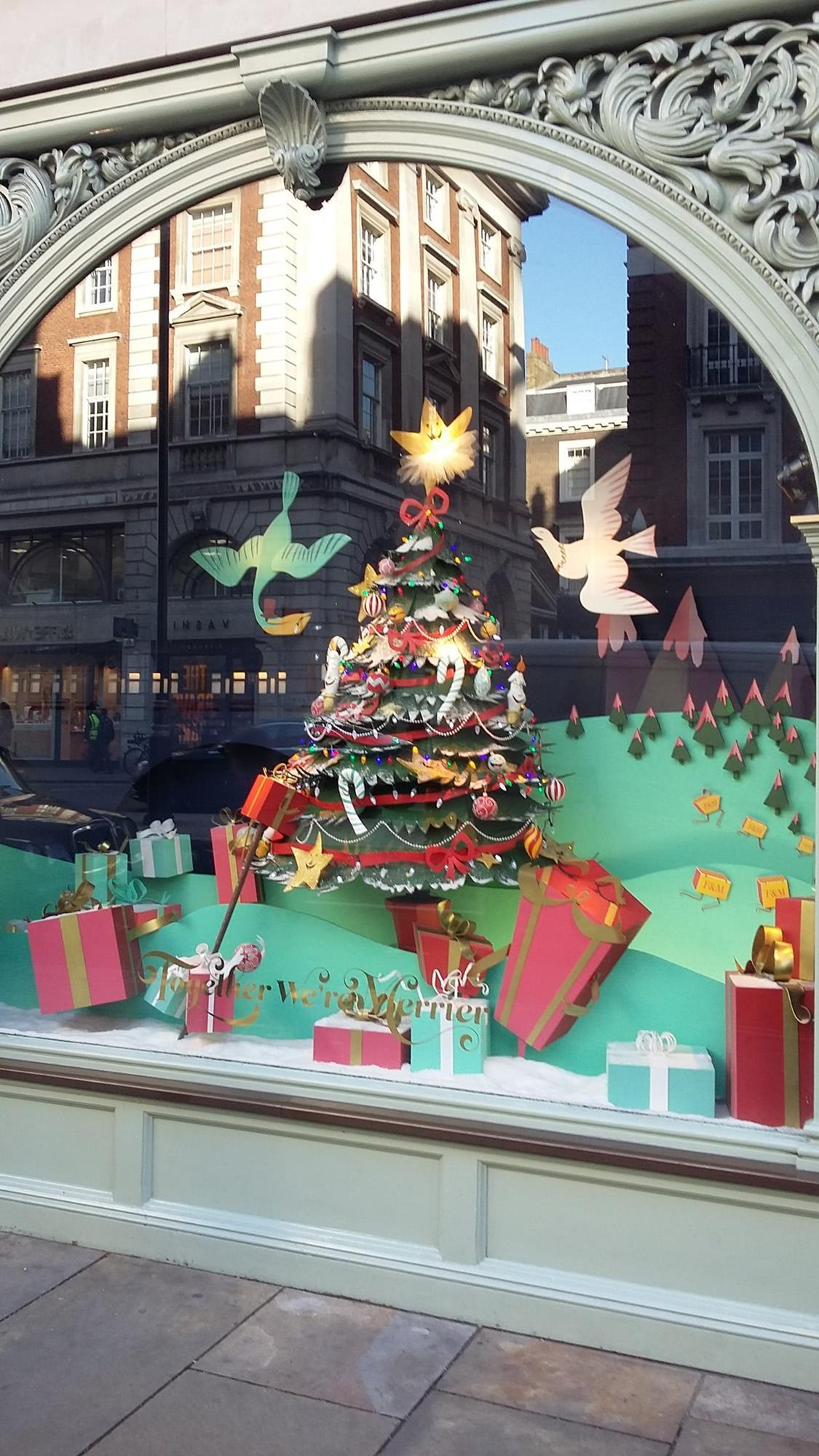In pictures What are the best festive shop windows