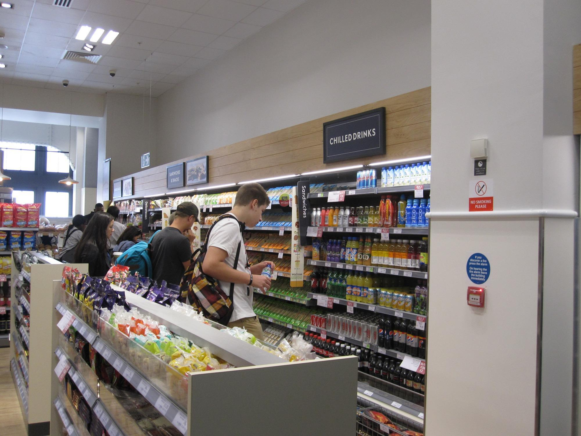 In Pictures Waitrose Opens First Train Station Store In