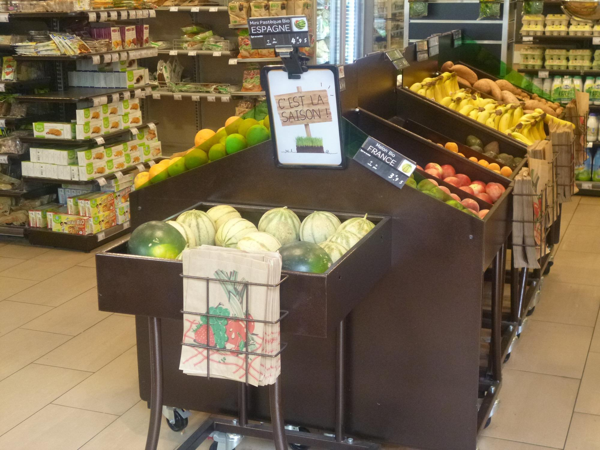 Analysis: Carrefour's first dedicated organic store