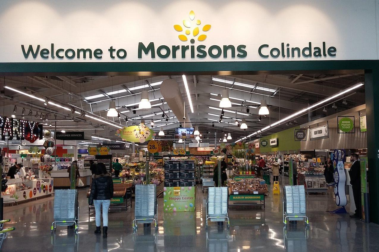 opinion  new colindale store is a step up for morrisons