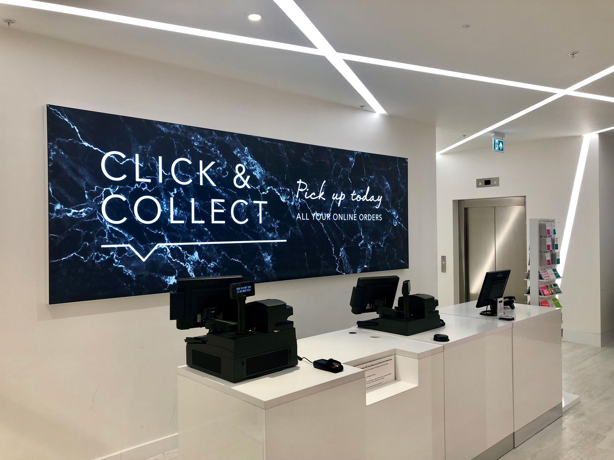 Analysis How Zara S Click And Collect Store Stacks Up