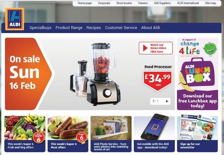 Website review: Amazon mobile site Vs Aldi mobile site