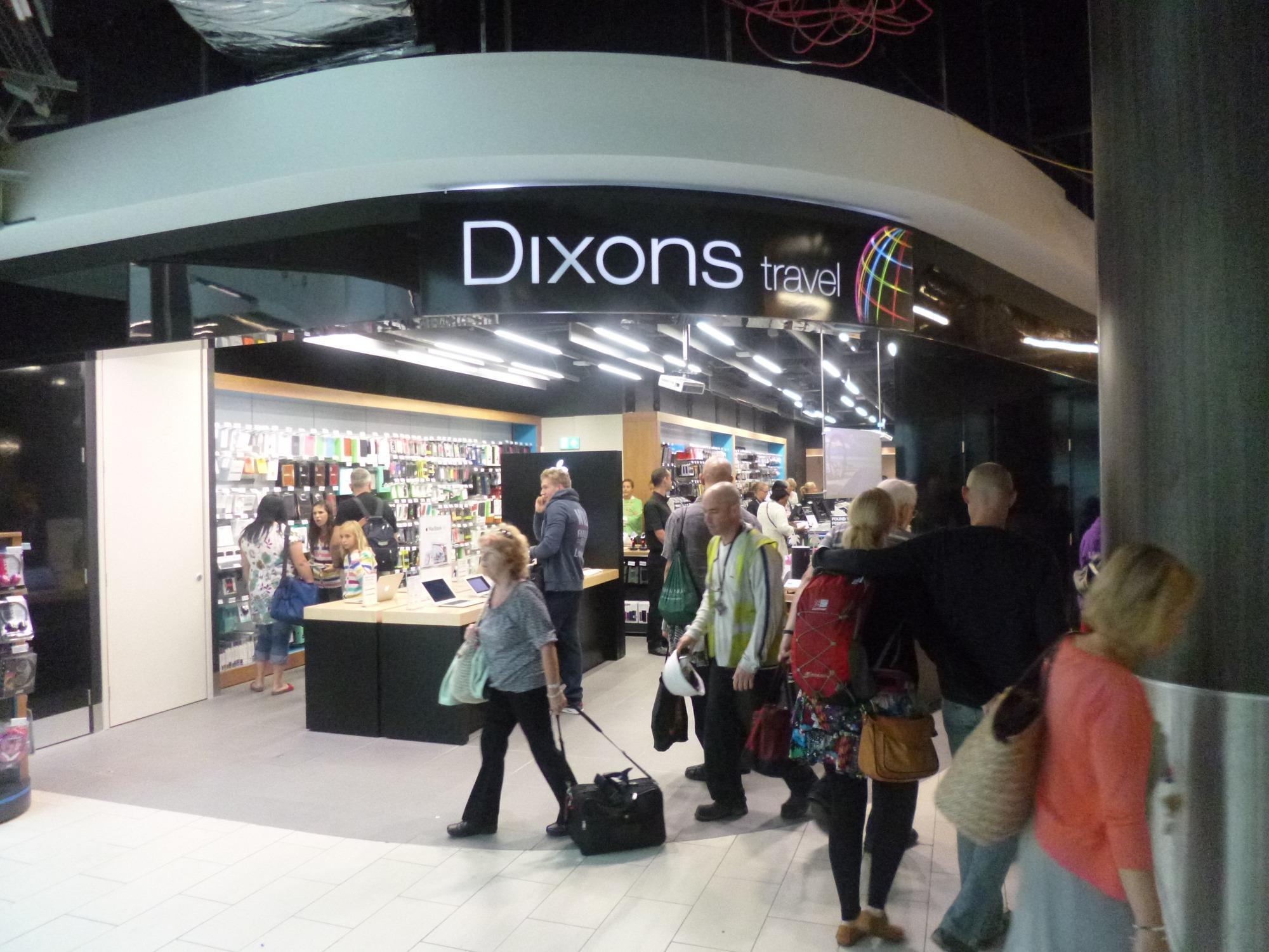 In pictures: Dixons reveals new look travel store at Gatwick