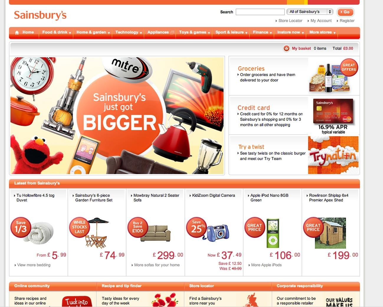 How Does Sainsburys Co Uk Compare News Retail Week