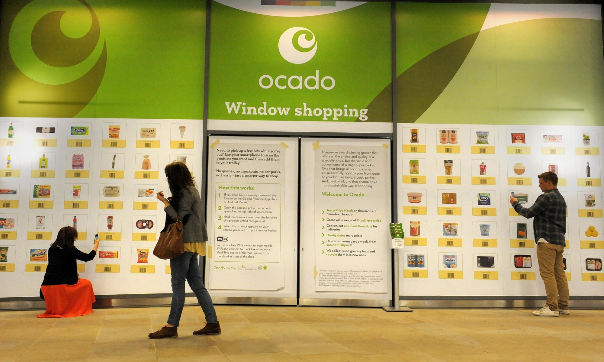 e7ba3748ccb In pictures: Ocado's virtual shopping wall goes live   Photo gallery    Retail Week