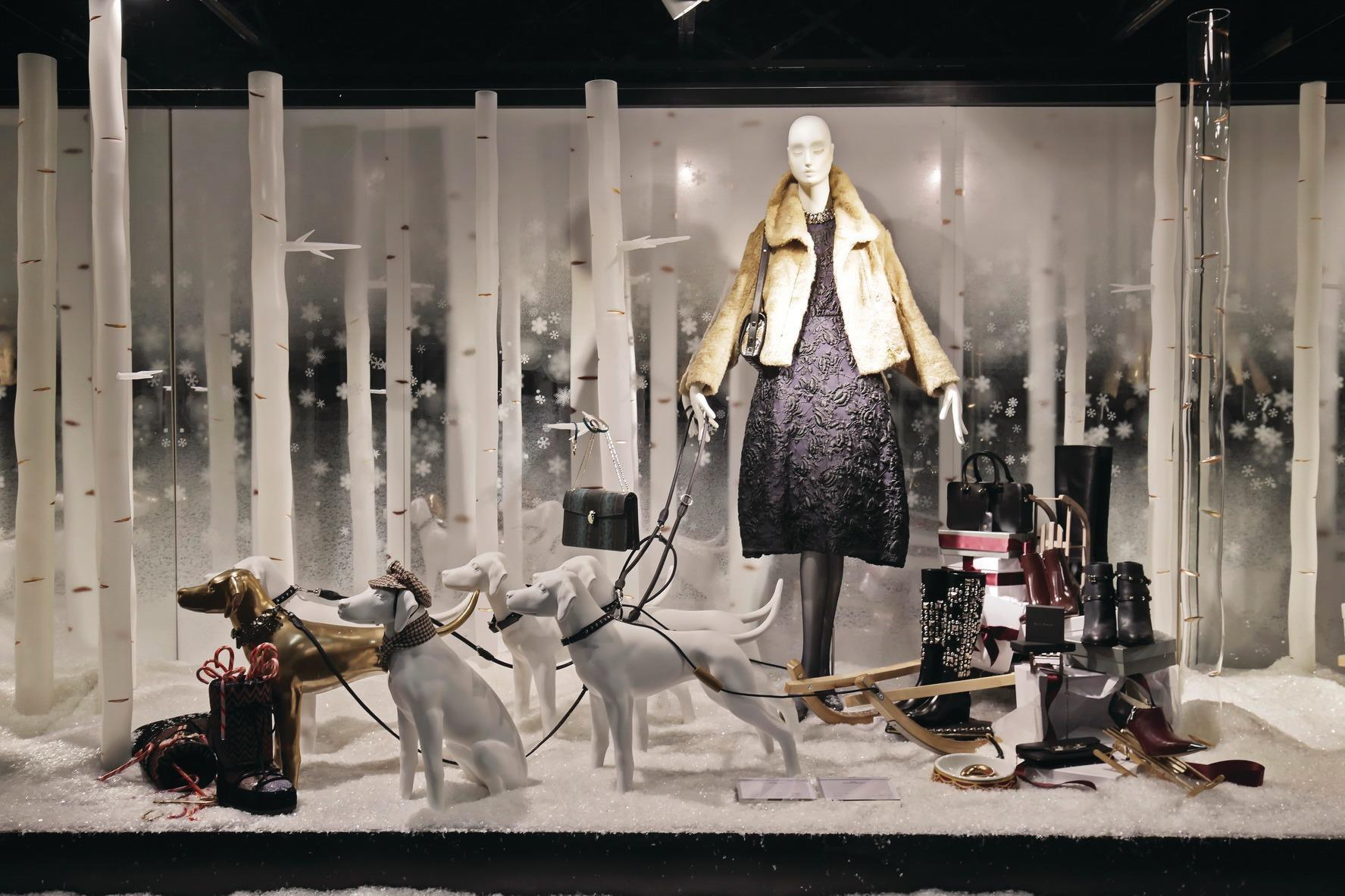 Store gallery the best international christmas window displays photo gallery retail week