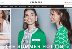 Farfetch is to expand in China with JD.com