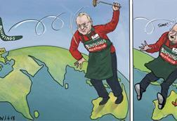 Blower cartoon Bunnings 30 May