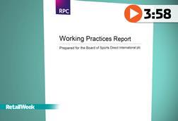 Sports Direct working practice report