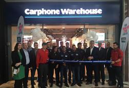 Carphone Warehouse Stratford fascia