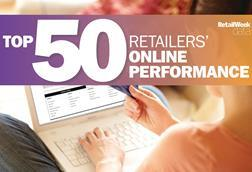 Top 50 retailers online performance index