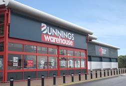 Bunnings Warehouse store fascia