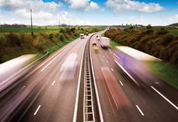 Supply Chain motorway trucks INDEX