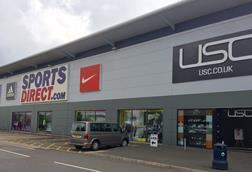 Sports Direct Shirebook warehouse open day