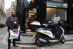 CollectPlus has launched a delivery service with Gett