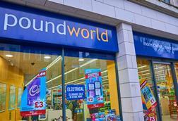 Poundworld store front