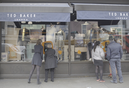 Ted Baker reported a rise in sales