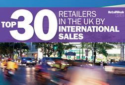 30 uk retailers overseas