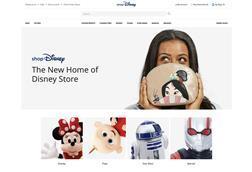 Shop Disney homepage