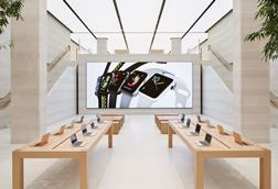 Apple regent street interior