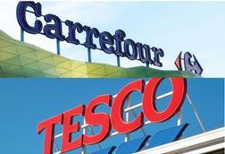 Carrefour and Tesco's partnership will be operational from October