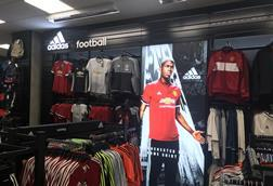 Manchester United footballer Paul Pogba is among the sporting stars used to promote big brands like Adidas, Nike and Under Armour.