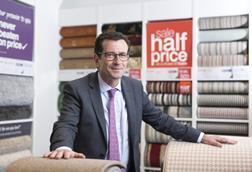 Carpetright chief executive Wilf Walsh aims to turn around the retailer