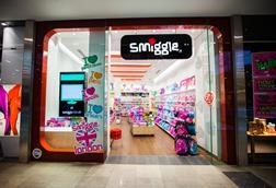 Smiggle has ploughed on with its global expansion plans