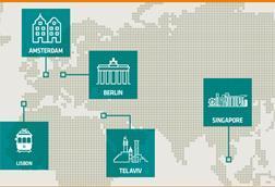 Tech hubs map