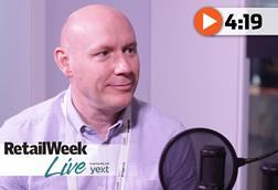 Tony Hoggett Retail Week Live interview