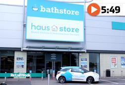 Bathstore Haus Store fascia