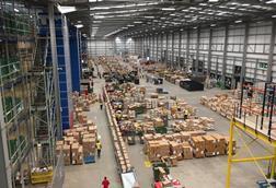 Asos' warehouse in Barnsley