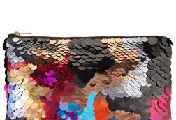 John Lewis' rainbow sequinned clutch is an easy way for consumers to tap into festive trends