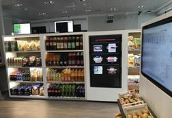 Pilot technology in Accenture's convenience store lab