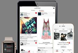 Net-a-Porter launches shoppable social media app