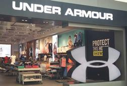 Under Armour Dubai fascia INDEX