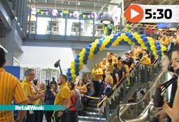 Ikea Sheffield opening