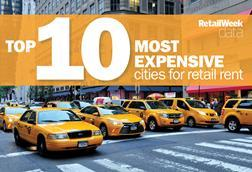 The world's most expensive cities for retail rent