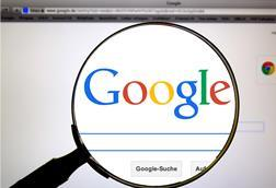 Google magnifying glass search