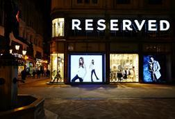 Reserved's flagship store in Budapest, Hungary
