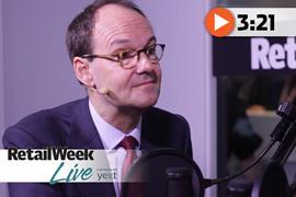 Mike Coupe Retail Week Live
