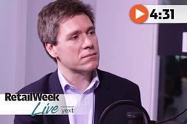 Bertrand Sainsburys Argos Retail Week Live interview