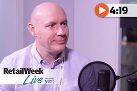 Tony Hoggett Retail Week Live interview