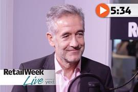 Ian Filby Retail Week Live 17 interview