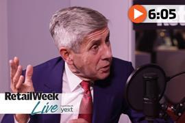 Lord Rose Retail Week Live interview