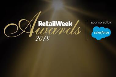 Retail week awards 2018 index